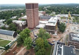 Yale Science Building Aerial Looking North September 2018